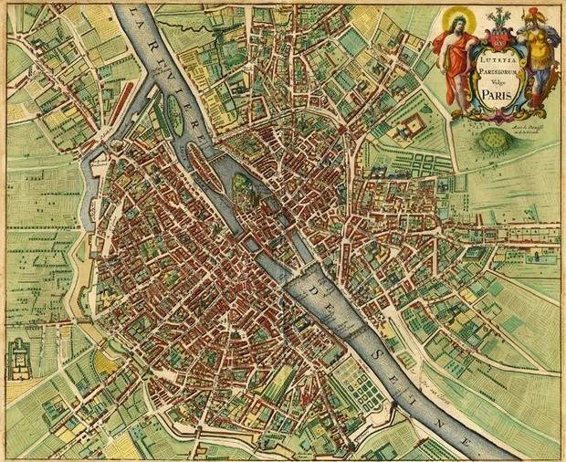 historic-map-of-paris