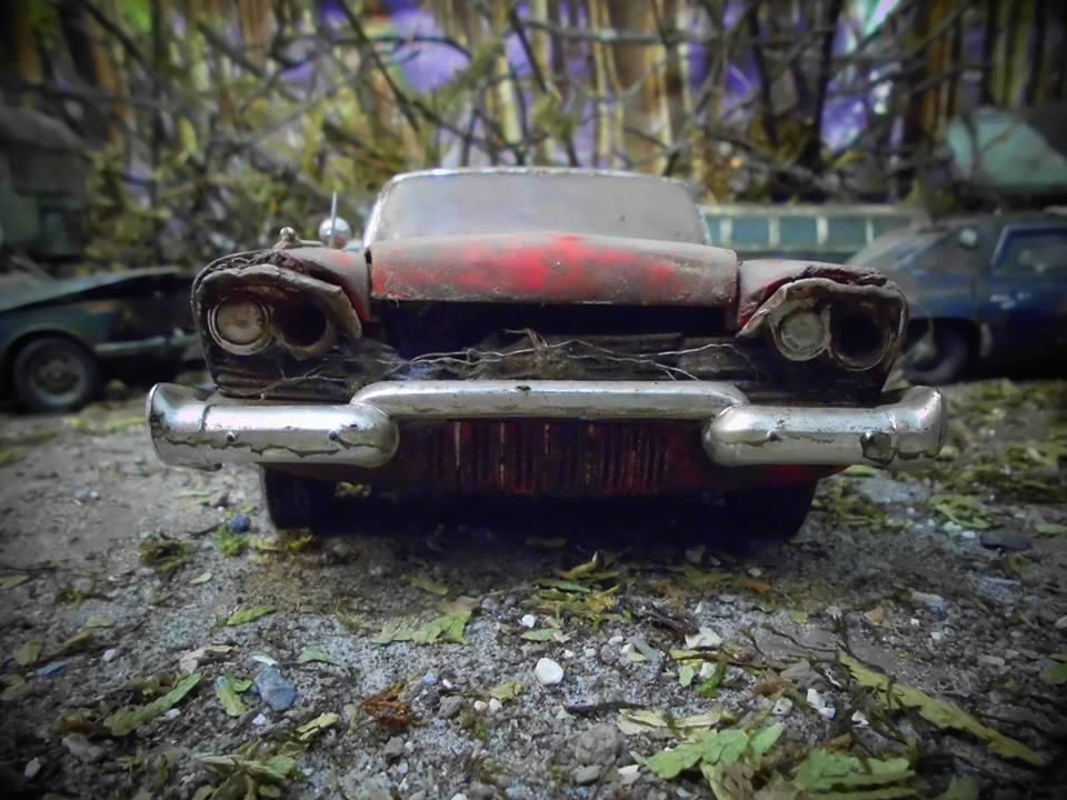 Inside Jens Trenkle\'s miniature car junkyard – La Vie Mini